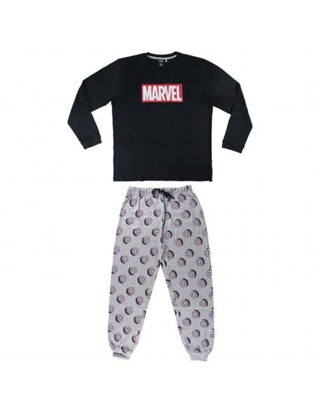 Avengers Pijama manga larga