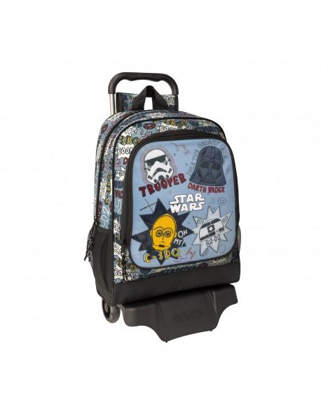 Star Wars Mochila grande ruedas, carro, trolley
