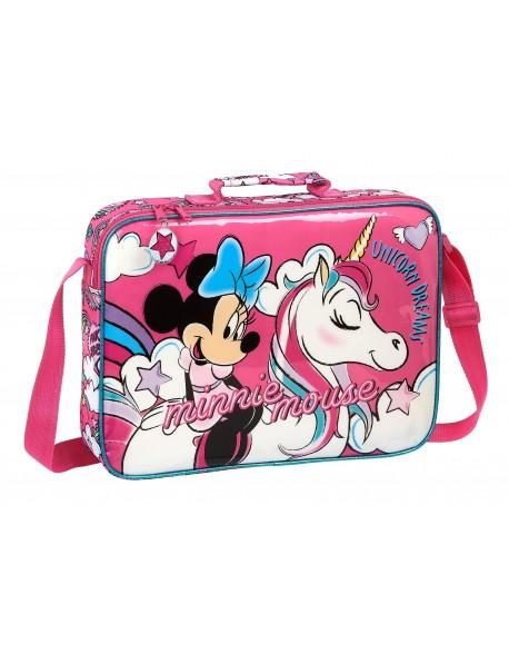 Minnie Mouse Maletín cartera extraescolares