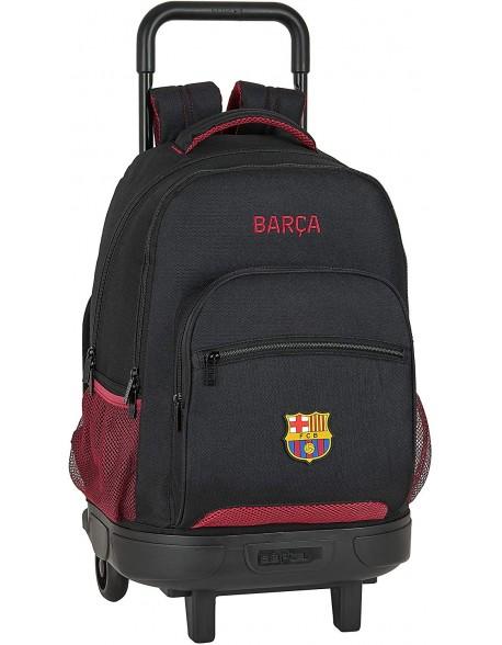 FC Barcelona Layers Mochila grande con ruedas carro, Trolley