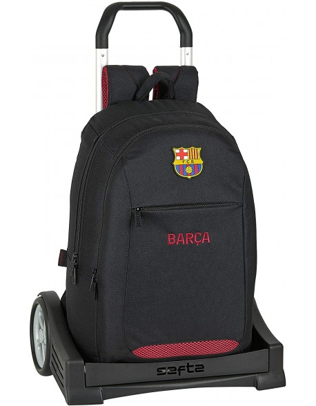 FC Barcelona Layers Mochila con carro ruedas Evolution, Trolley