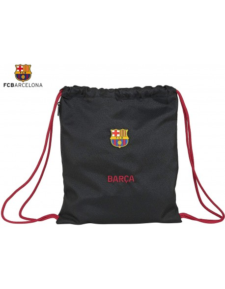 FC Barcelona Layers Saco mochila plano cuerdas 35 x 45 cm