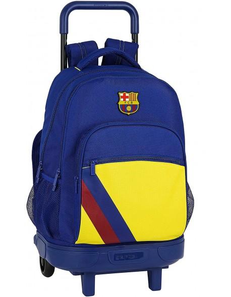 FC Barcelona 19/20 Mochila grande con ruedas carro, Trolley