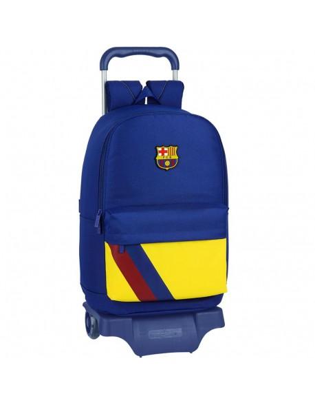 FC Barcelona 19/20 Mochila grande ruedas, carro, trolley