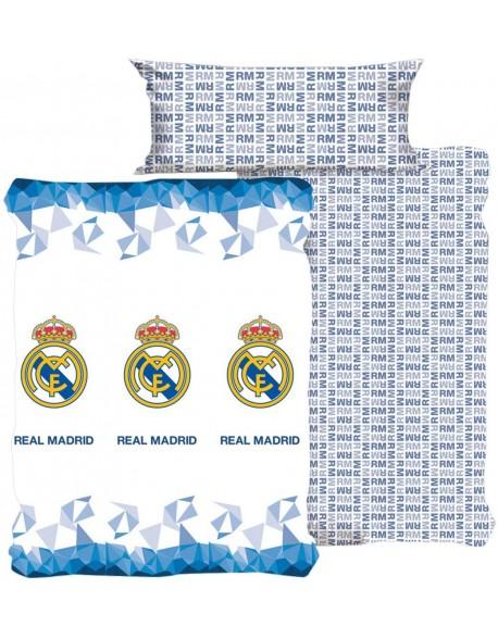 Tejidos Reina Juego de sábanas Real Madrid Emblema