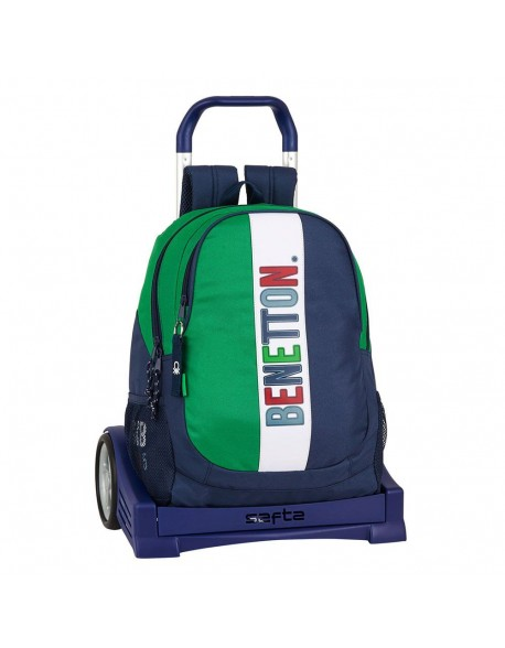 UCB Benetton 1965 Mochila con carro ruedas Evolution, Trolley
