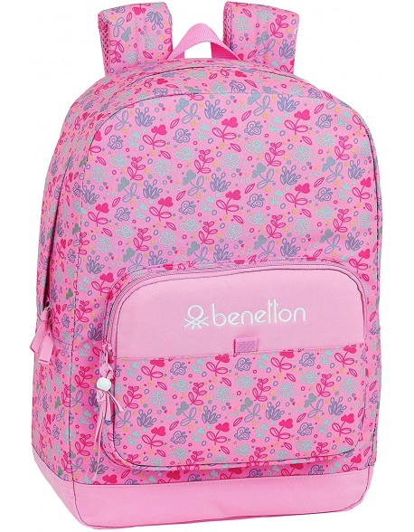 UCB Benetton Butterflies Mochila grande adaptable a carro