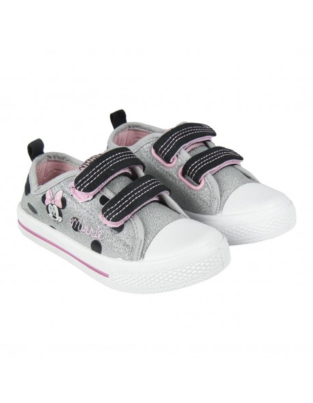 Minnie Mouse Canvas Pump Infant Trainers Shoes Low Top