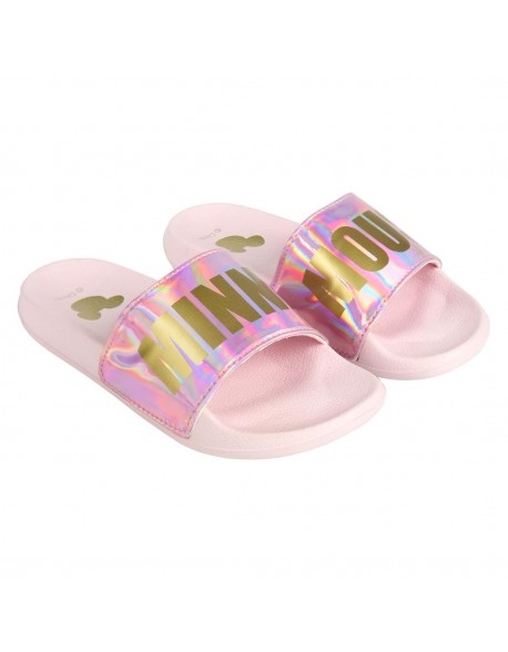 Minnie Mouse Mouse Chanclas piscina, adulto