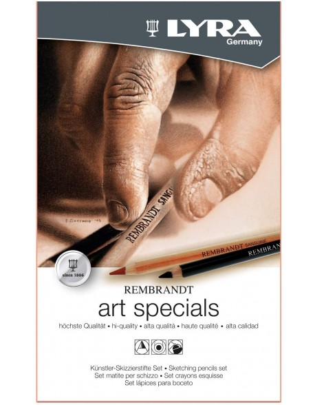 Lyra Rembrandt Art Specials Set de Lápices