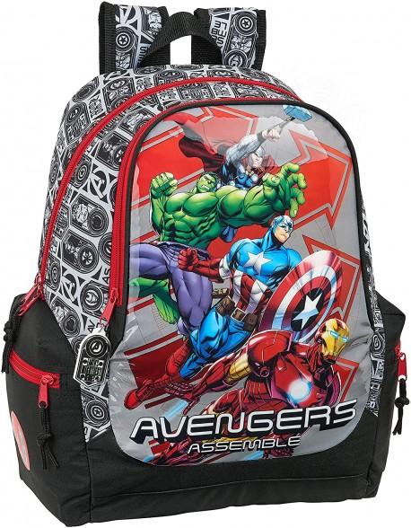 Avengers Mochila grande adaptable a carro, niño