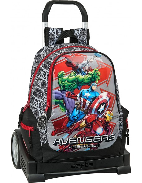 Avengers Mochila con carro ruedas Evolution, Trolley