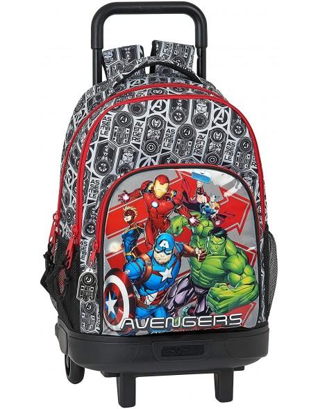Avengers Mochila grande con ruedas carro, Trolley