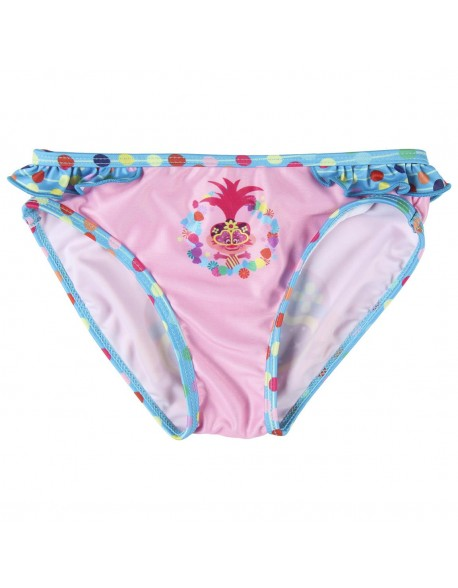 Trolls Bañador niña bikini, culetín, braguita