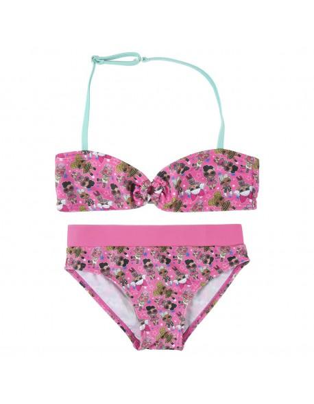 Lol Bikini niña, conjunto 2 piezas