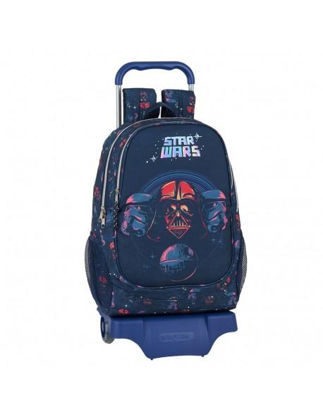 Star Wars Death Star Mochila grande ruedas, carro, trolley