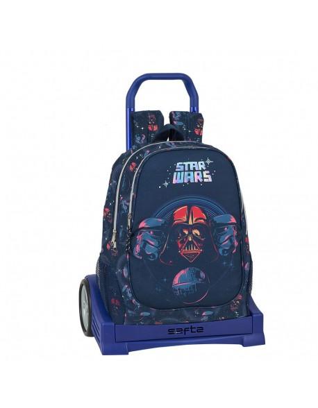 Star Wars Death Star Mochila con carro ruedas Evolution, Trolley