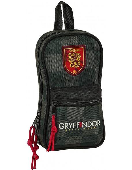 Harry Potter Plumier mochila 4 estuches llenos, 33 piezas, escolar
