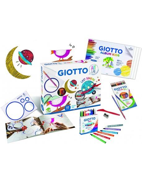 Giotto Art Lab Magic Circle Set de Papel y Colores