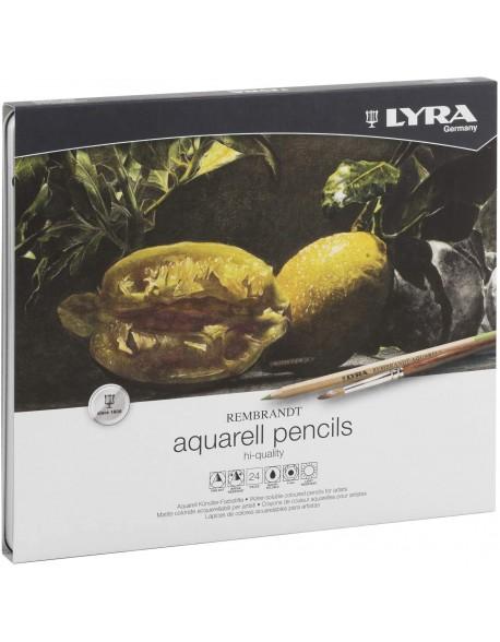 Lyra Rembrandt Aquarell 24 Lápices de Colores