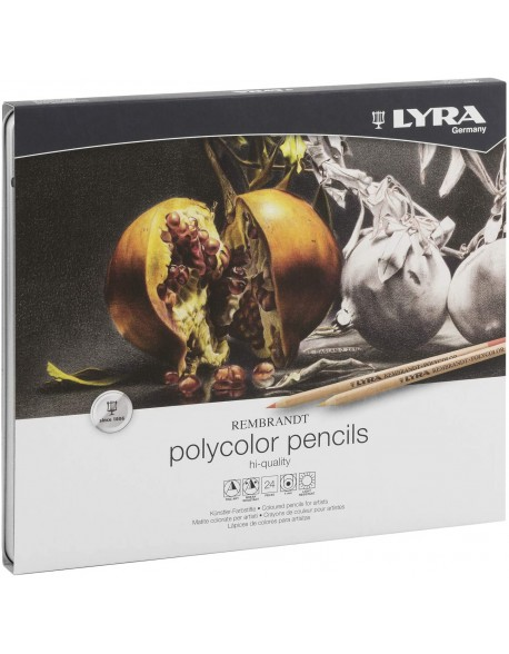 Lyra Rembrandt Polycolor 24 Lápices de Colores
