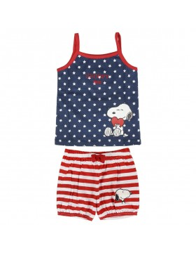 Snoopy Pijama verano bebé