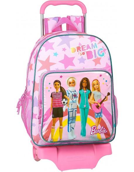 Barbie Dreamer Mochila grande ruedas, carro, trolley