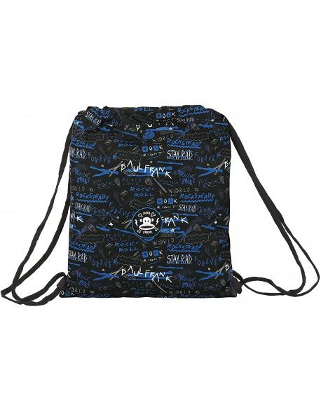 Paul Frank Rock n'Roll Saco mochila plano cuerdas 35 x 40 cm