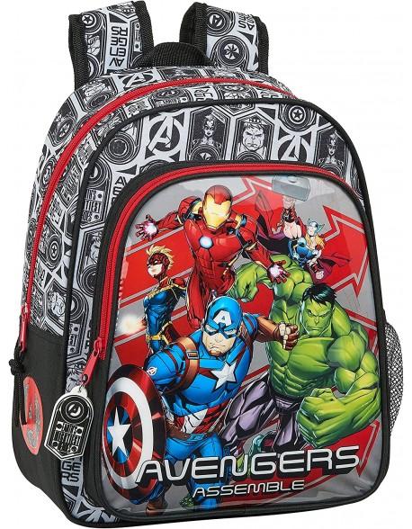 Avengers Mochila pequeña niño adaptable carro