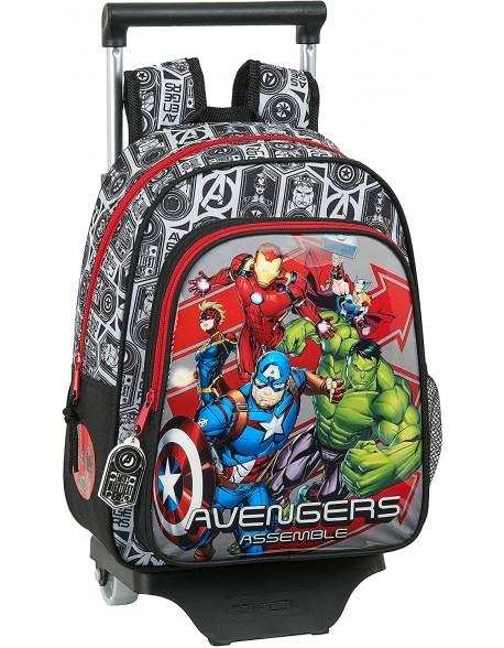 Avengers Mochila pequeña ruedas, carro, trolley