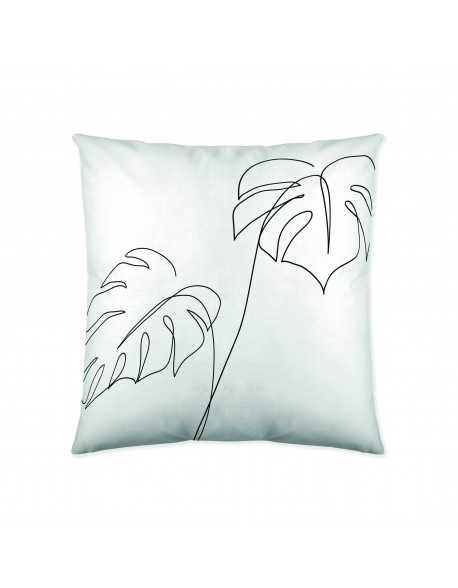 Naturals Cojín reversible Blanca 100% algodón