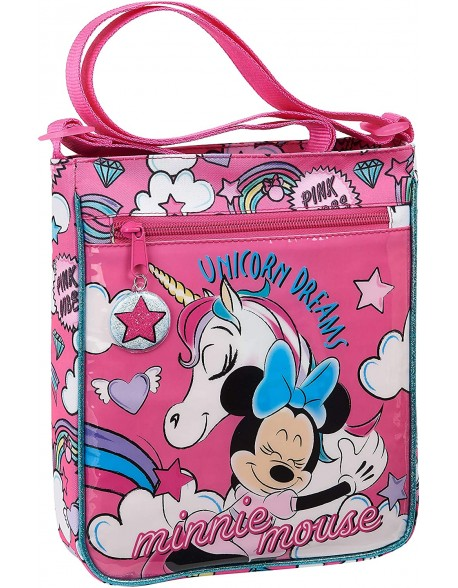 Minnie Mouse Bolso bandolera para niña, bolsito