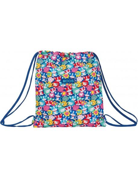 Moos Corgi Saco mochila plano cuerdas 35 x 40 cm