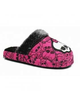 Monster High Zapatillas de estar por casa niña, pantuflas