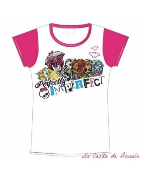 Monster High Camiseta manga corta niña
