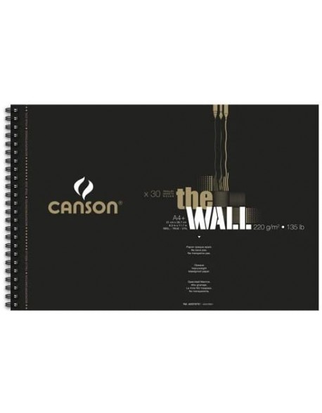 Canson The Wall, Album espiral , 30 hojas, 220 gr