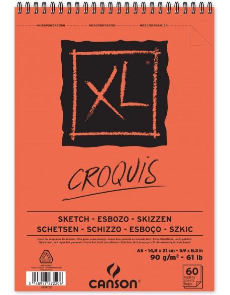 Canson XL Croquis, Album espiral,  90g