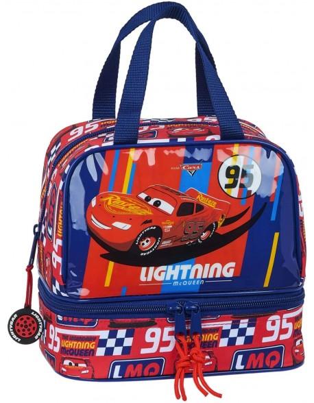 Car Racing Block Portameriendas, Bolso para el almuerzo o la merienda