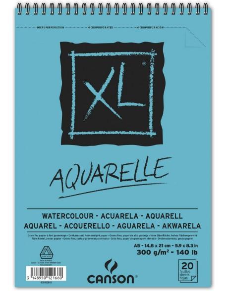 Canson XL Aquarelle, Album espiral, 300 g