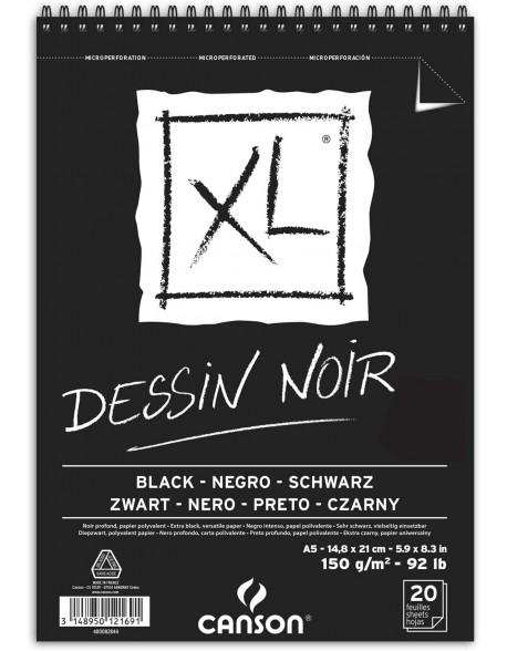Canson XL Black, Album espiral, 150 g