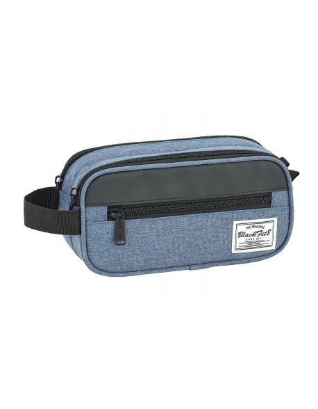 Blackfit8 Black & Blue Bolsa de accesorios, Neceser