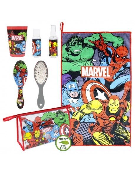 Avengers Set de comedor, Neceser aseo personal, viaje