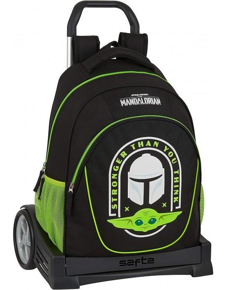 The Mandalorian Mochila con carro ruedas Evolution, Trolley