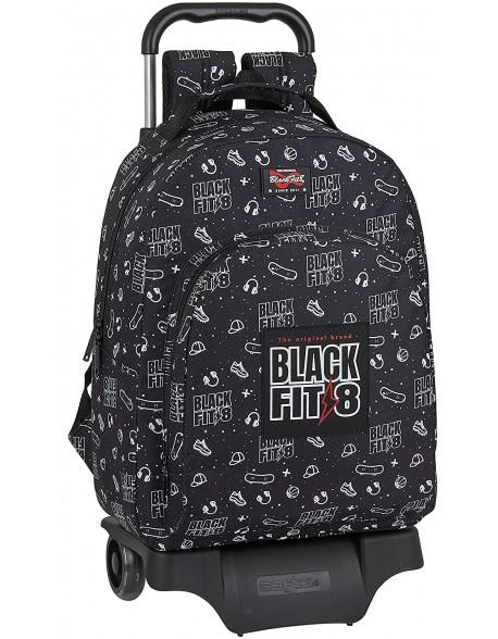 Blackfit8 Sport Galaxy Mochila grande ruedas, carro, trolley