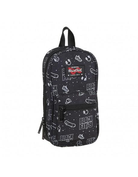Blackfit8 Sport Galaxy Plumier mochila 4 estuches llenos, 33 piezas, escolar