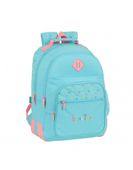 UCB Benetton Candy Mochila doble con cantoneras adaptable a carro