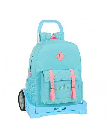 UCB Benetton Candy Mochila con carro ruedas Evolution, Trolley