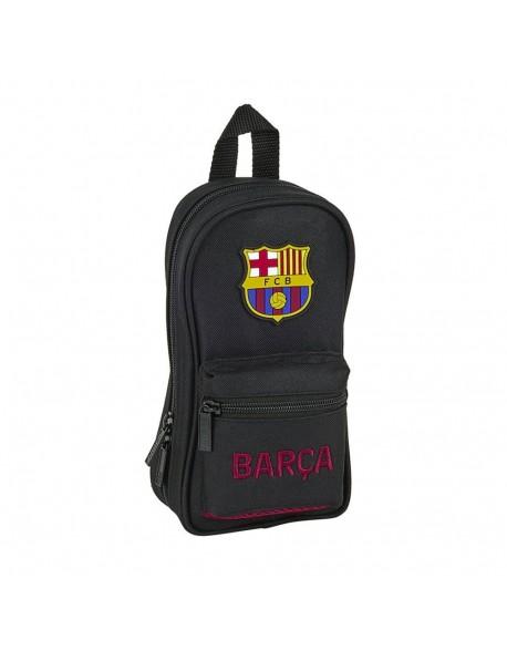 FC Barcelona Layers Plumier mochila 4 estuches llenos, 33 piezas, escolar