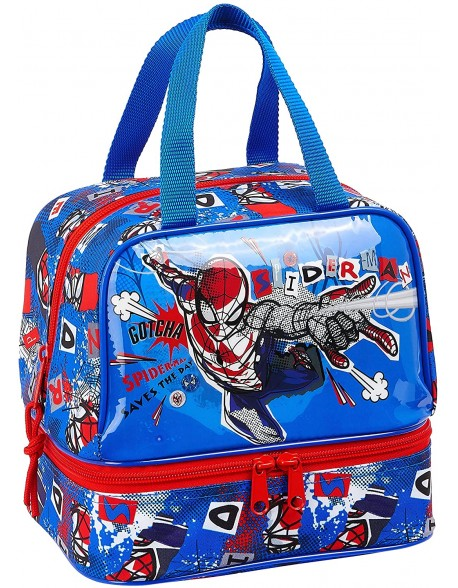 Spiderman Portameriendas, Bolso para el almuerzo o la merienda niño