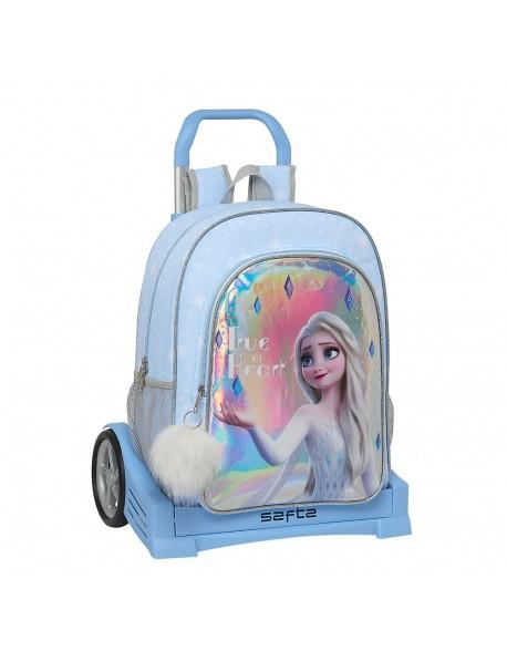Frozen True at heart Mochila con carro ruedas Evolution, Trolley